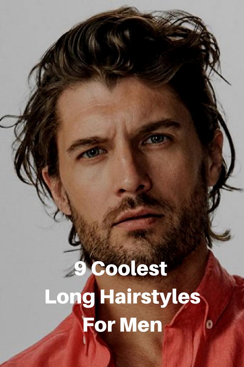 long hairstyle men 2018