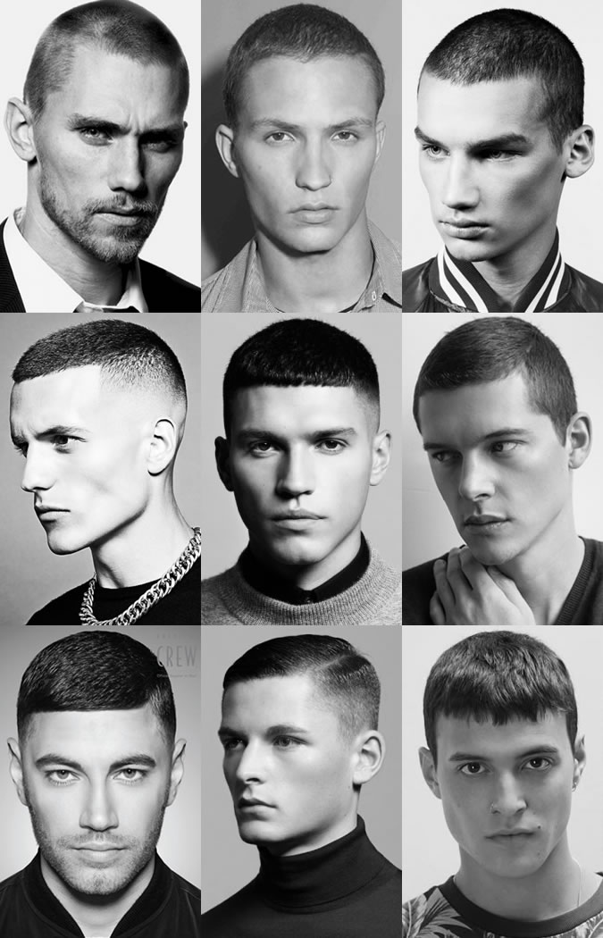 buzzcut hairstyles for men