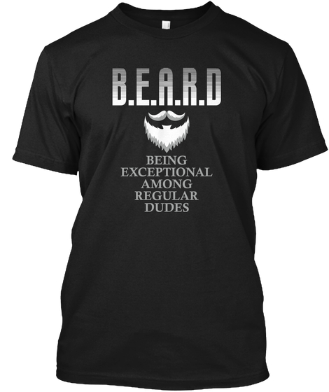 The Ultimate BEARD Tee - Grab this awesome beard tee right now.