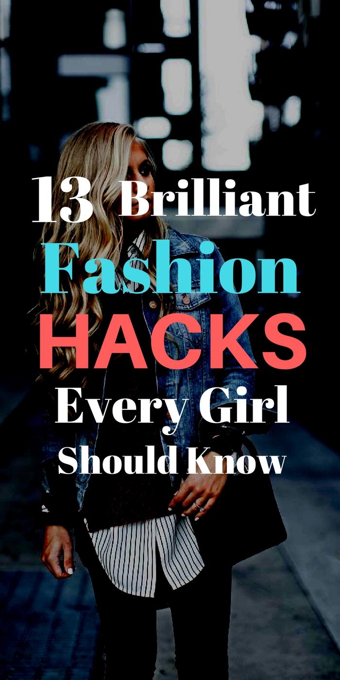 fashion hacks for girls