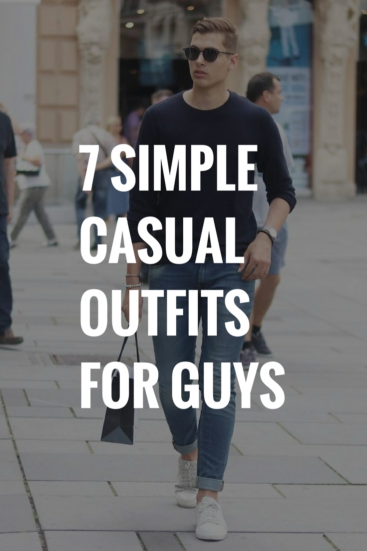 Simple casual outfits for men