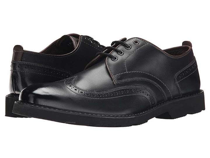 Wingtip derby shoes