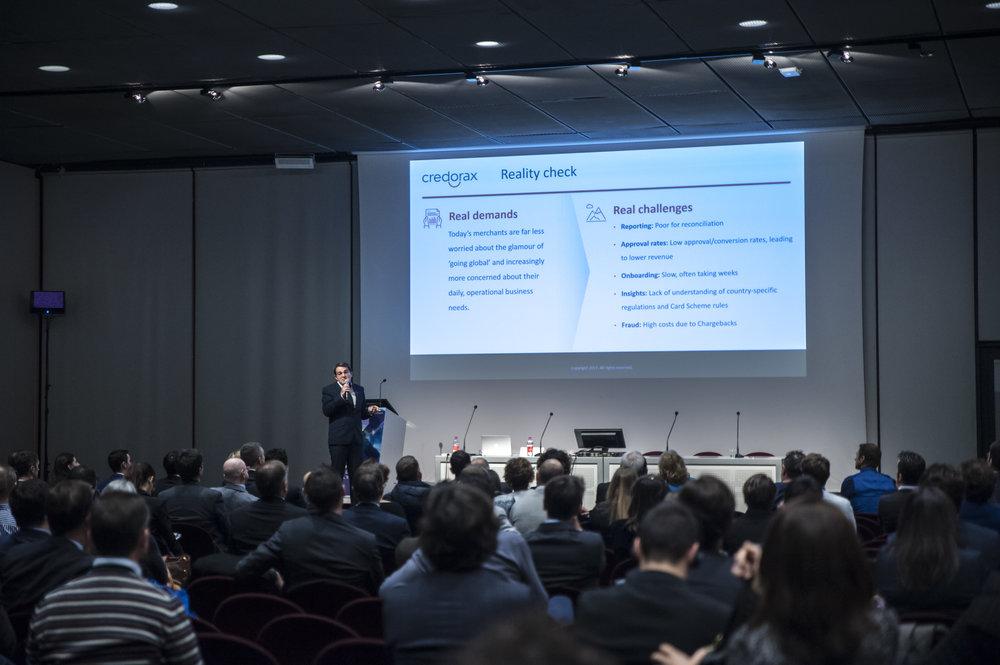 Alon Bigler, Vice President of Business Development & Strategic Solutions, Credorax at OpenWay's workshop, Il Salone Dei Pagamenti Payvolution 2017