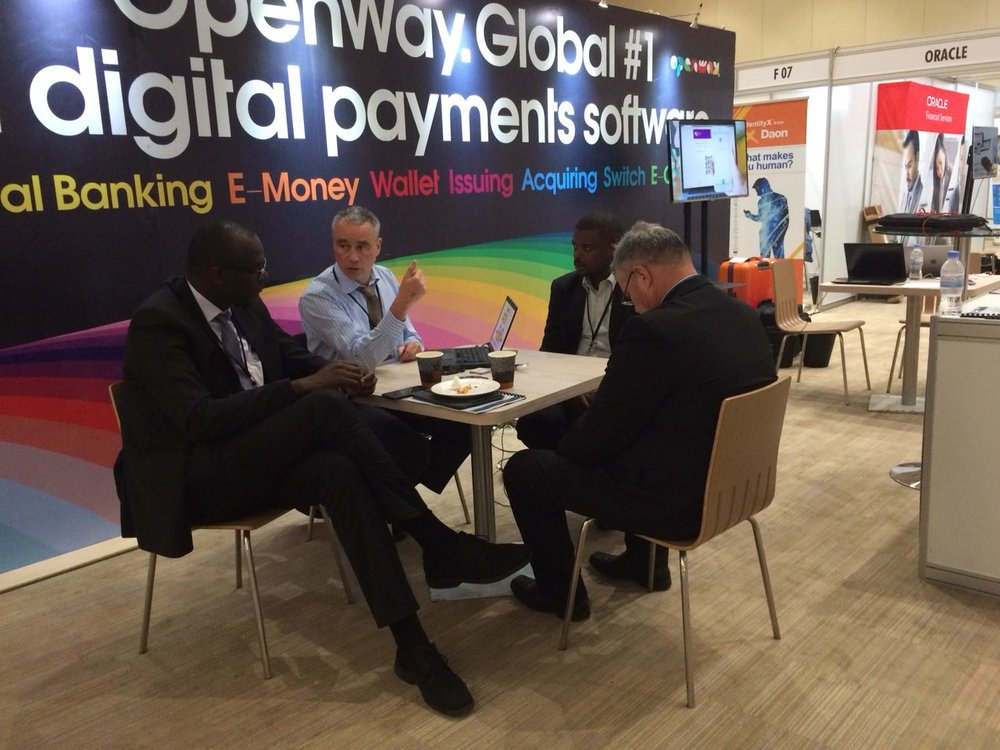 OpenWay team presents WAY4 digital payment processing platform at Dot Finance Summit, February 21-22, 2018 - Kigali, Rwanda