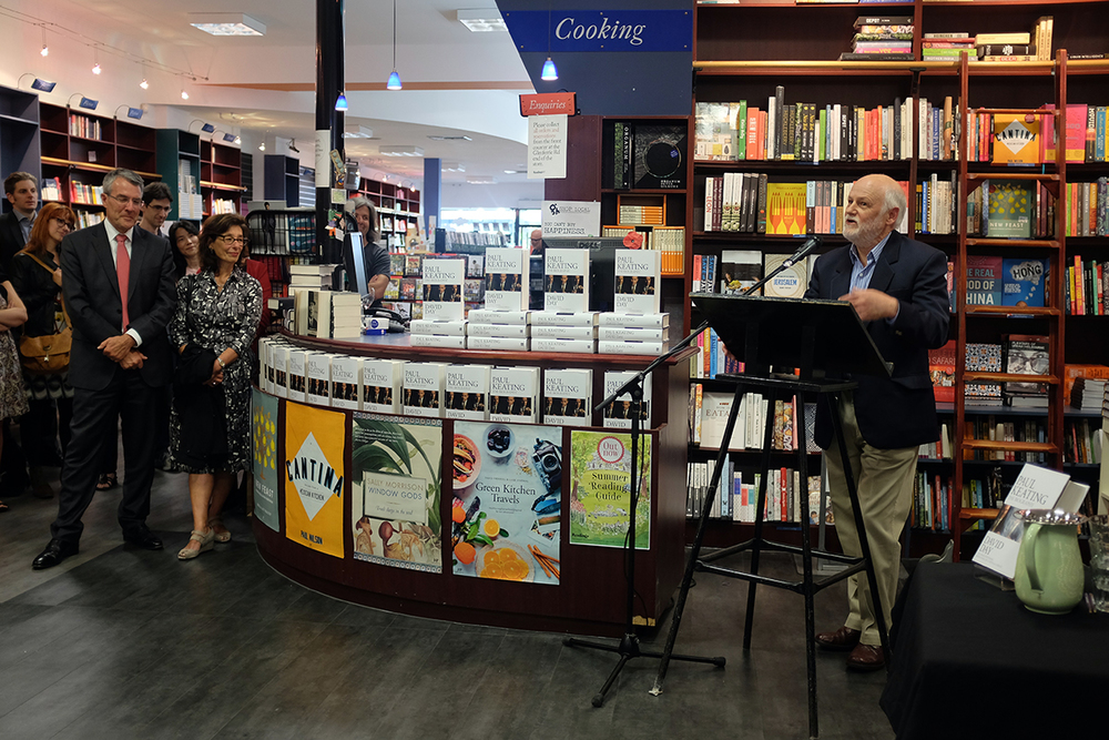 Author David Day at the launch of Paul Keating: The Biography.