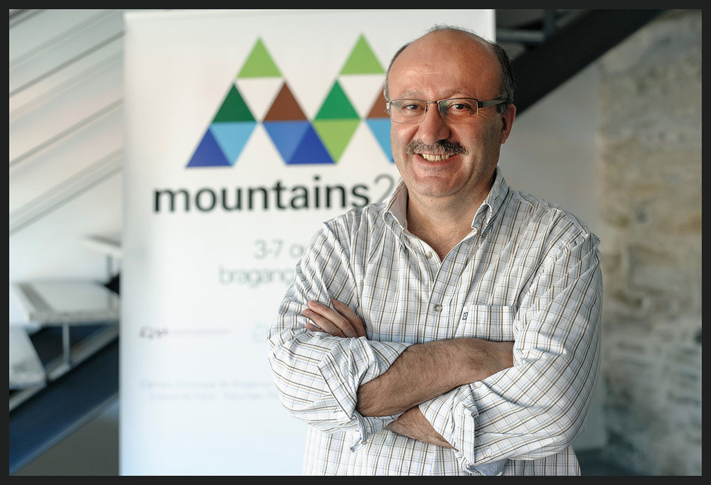 Jaime Pires, do Centro de Investigação da Montanha, IPB,Bragança.