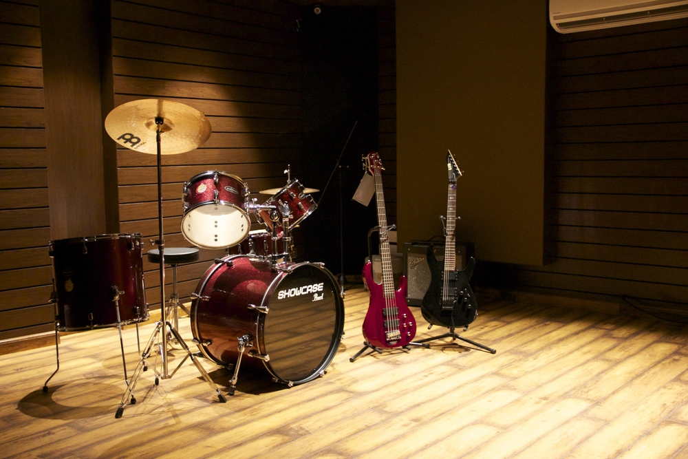 Live Room - with equipment