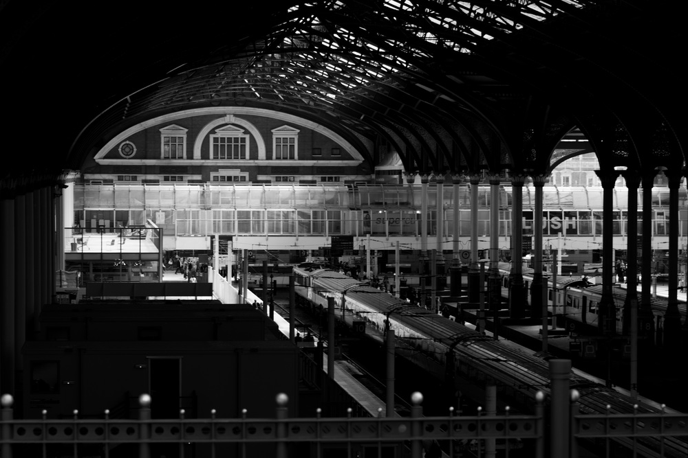 Liverpool Street Station - 3.13pm