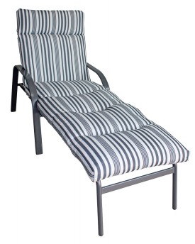 Del Terra Airlie Steel Cushion Lounge