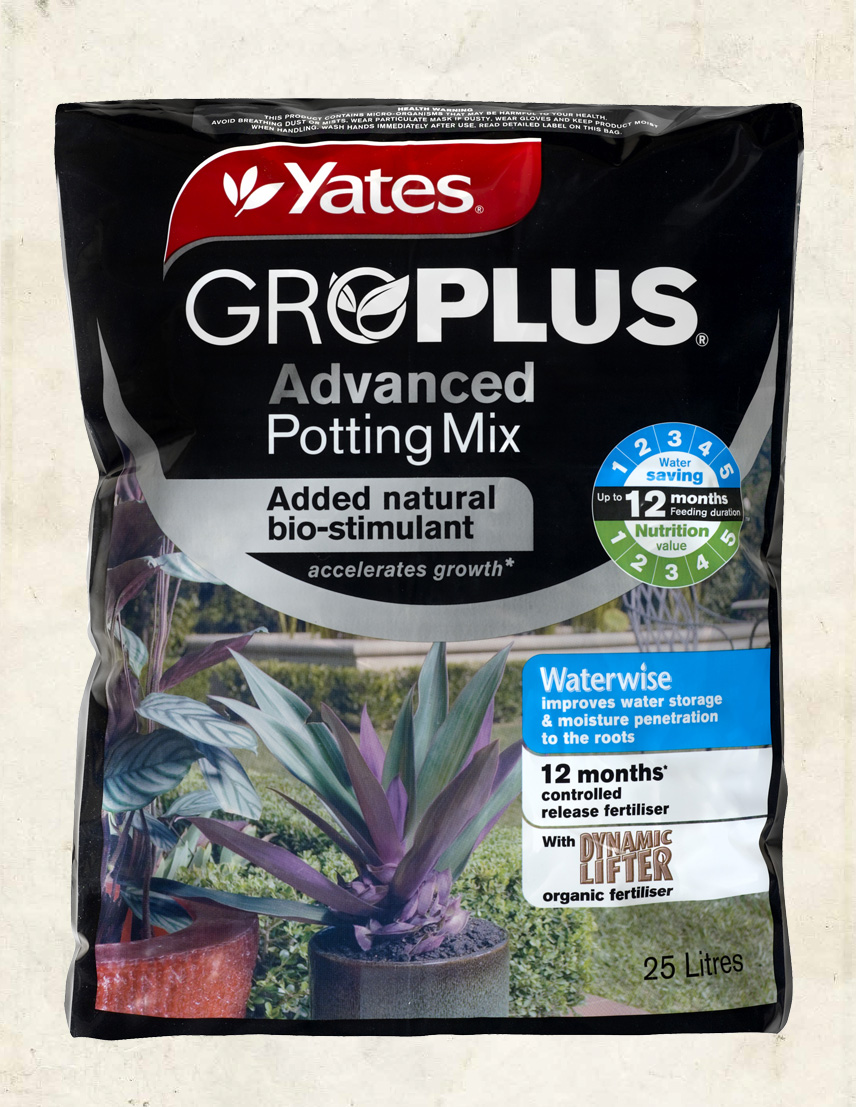Yates GroPlus Advanced Potting Mix 25L