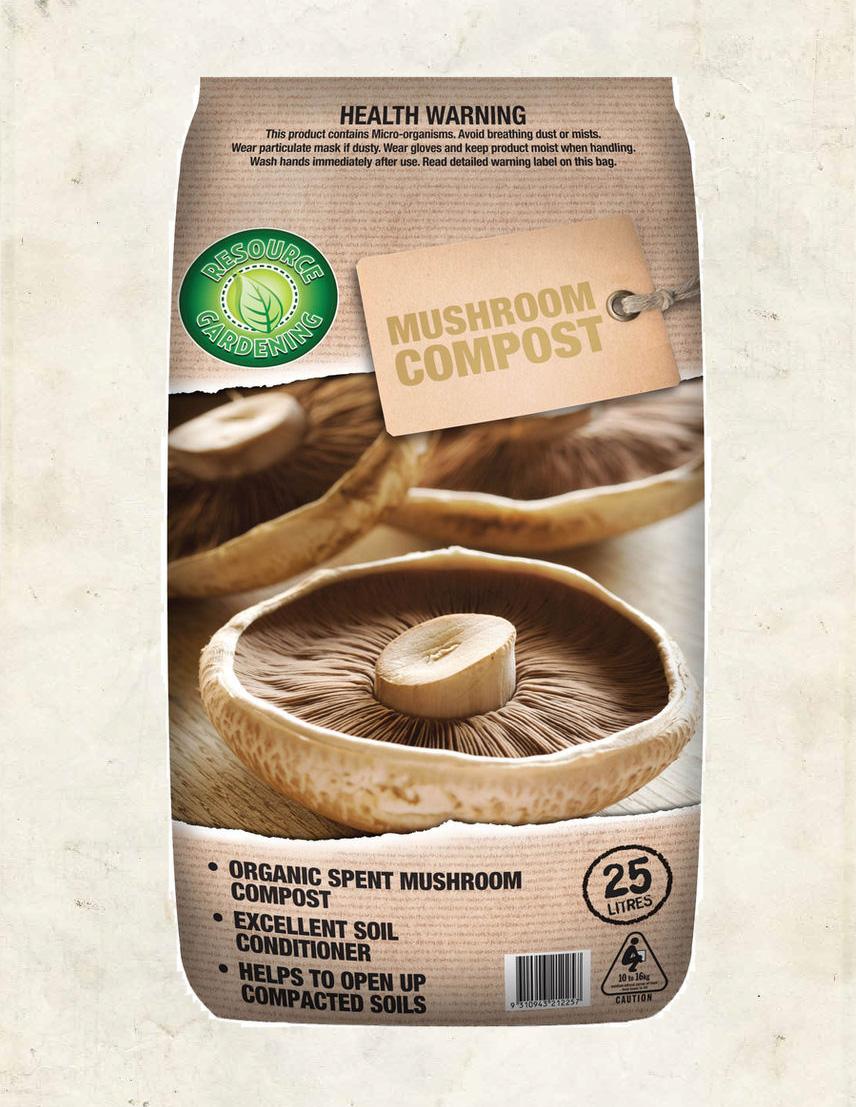 Resource Gardening Mushroom Compost 25lt