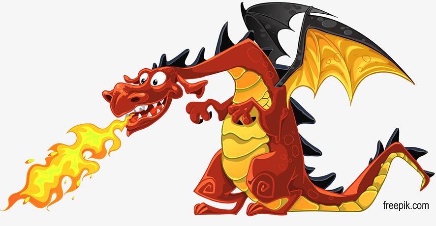 O dragão como símbolo da inflação foi uma imagem comum nas décadas de 80 e 90 no Brasil.Representa um animal incontrolável que amedronta a população e  destrói tudo, principalmente o seu dinheiro.