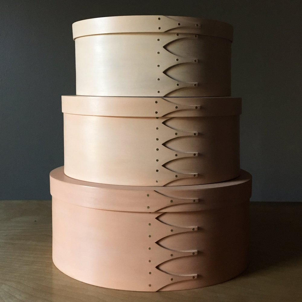 Three Shaker Boxes Graduated Peach Color.jpg