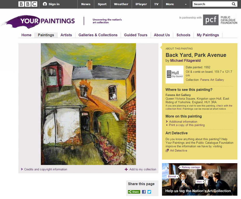 bbc art painting archive