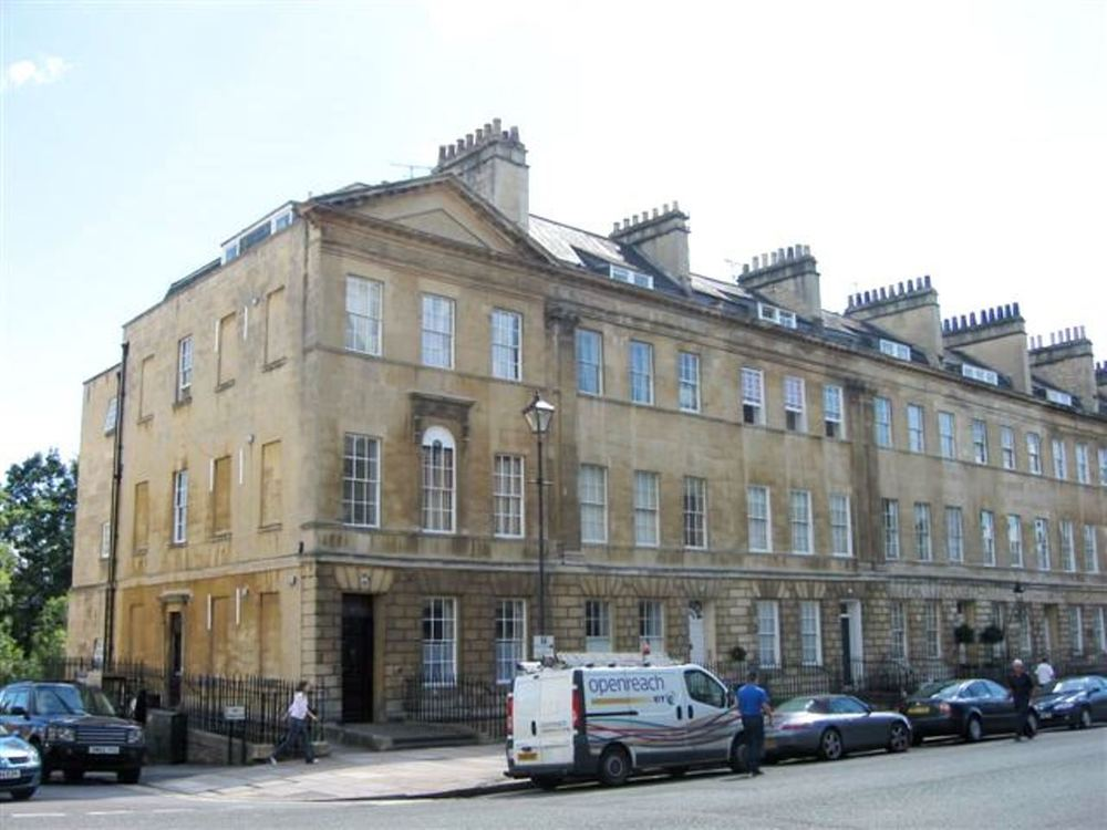 OTAL REFURBISHMENT ALL 6 FLOORS - 66 GREAT PULTNEY STREET, GRADE I LISTED BUILDINGBATH UK