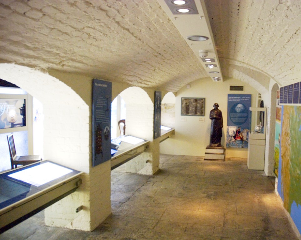 AMERICAN MUSEUM, REFURBISHMENT AND EXHIBITION DESIGN, BATH UK