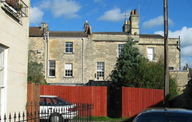 REAR EXTENSION, GRADE II LISTED DWELLING, LAMBRIDGE PLACE, BATH UK