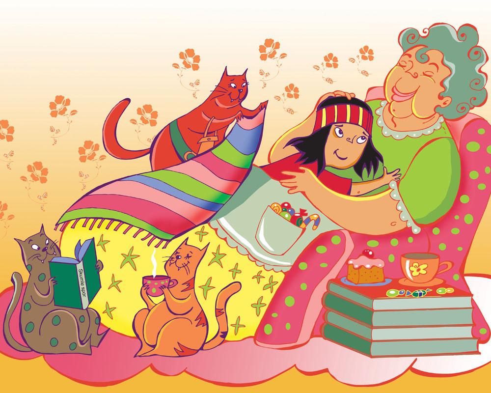 Barnebok, illustratør Kari Sortland
