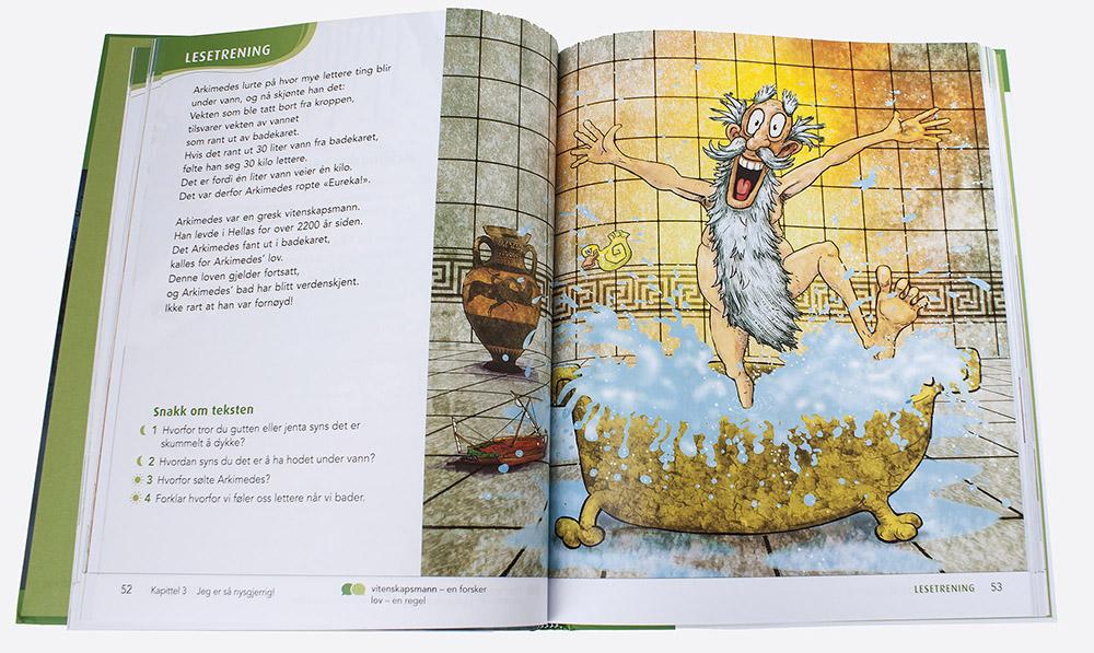 Illustrasjon av Erik Ødegaard i Salto 3.