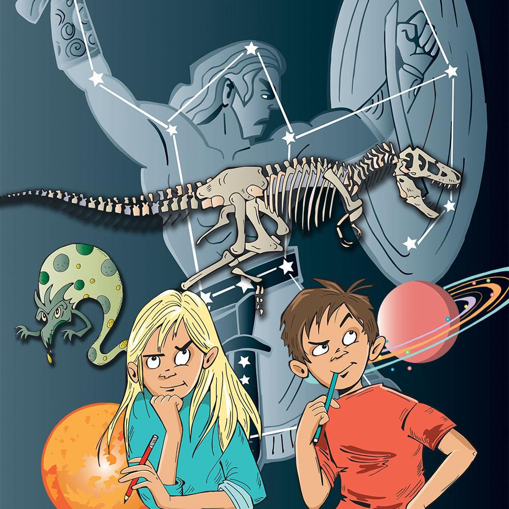 Kari Sortland har blant annet fullført fire år med illustrasjoner til læreverket Cumulus for Aschehoug forlag. Tema er naturfag og samfunnsfag fra 1. til 4. klasse. Det har blitt både bøker og tavleressurser. Og en mengde illustrasjoner av alle slag.