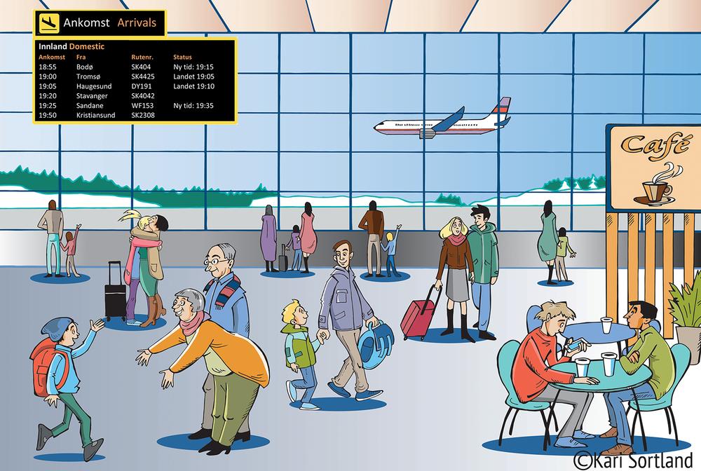 Illustrasjon undervisning Norsklab