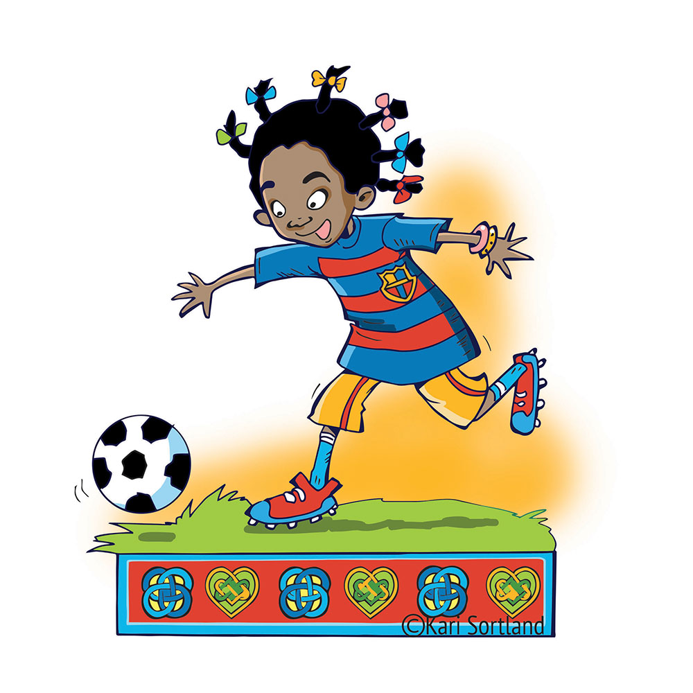 Barnebok illustratør Kari Sortland