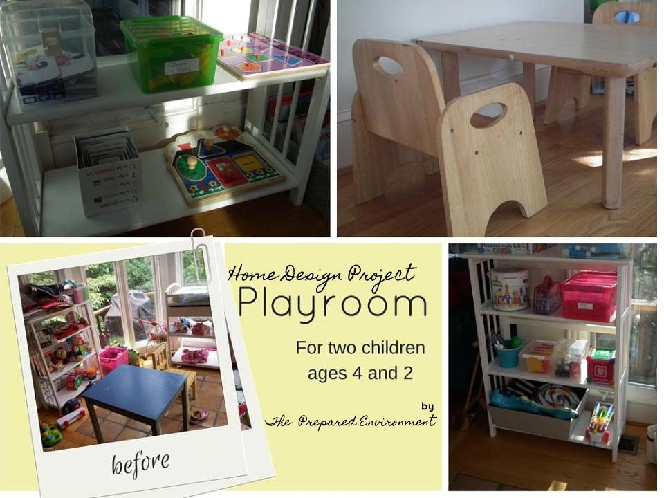 Rachel's Playroom from The Prepared Environment