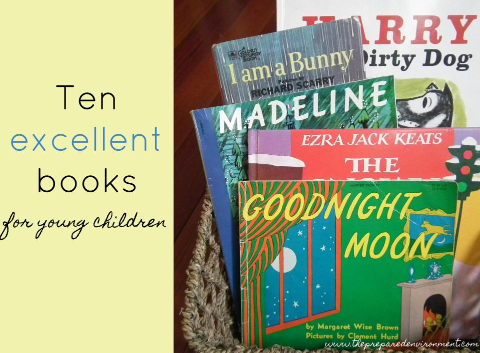 Ten Excellent Books for Young Children