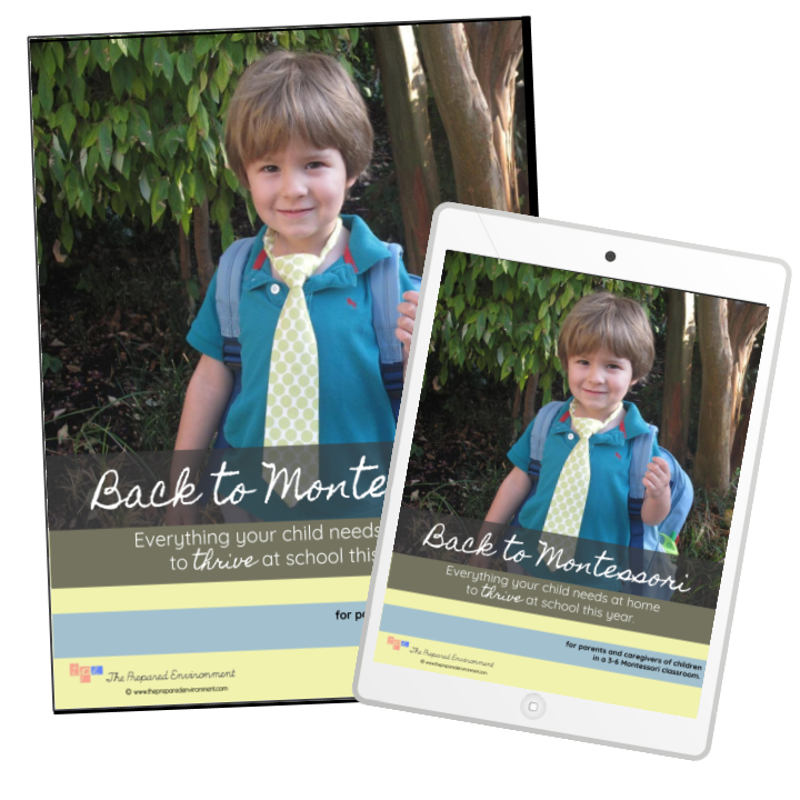 Back to Montessori Booklet