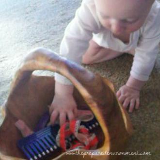 Advanced treasure basket