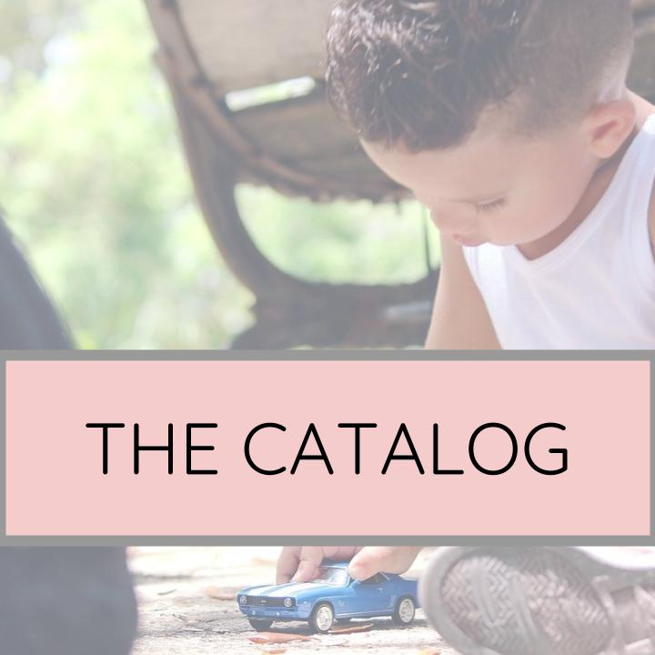 What do I need? - The best toys and materials for supporting your child's development are here, grouped by category and age.