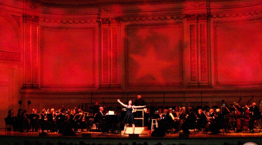 with Karen Ziemba and the New York Pops, Carnegie Hall