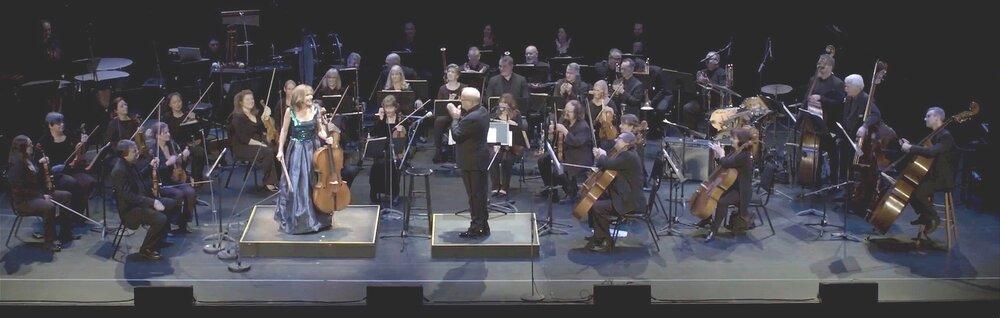 Ofra Harnoy, in concert