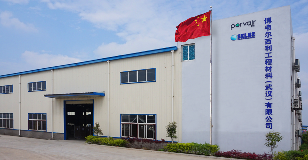 SELEE Factory in Wuhan, China