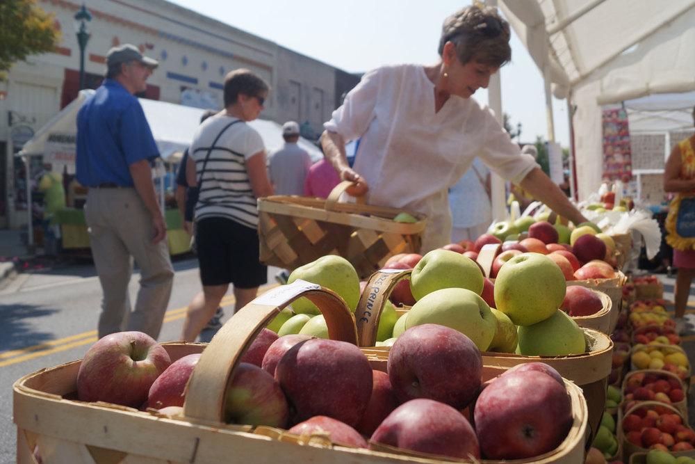 North Carolina Apple Festival in Hendersonville