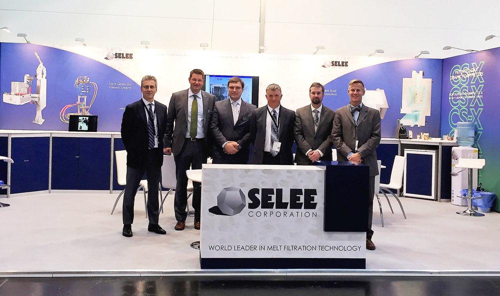 SELEE Booth,Aluminium 2016, Dusseldorf Germany