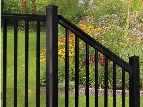 Nantucket™ Railing - Powder Coated Aluminum Railing