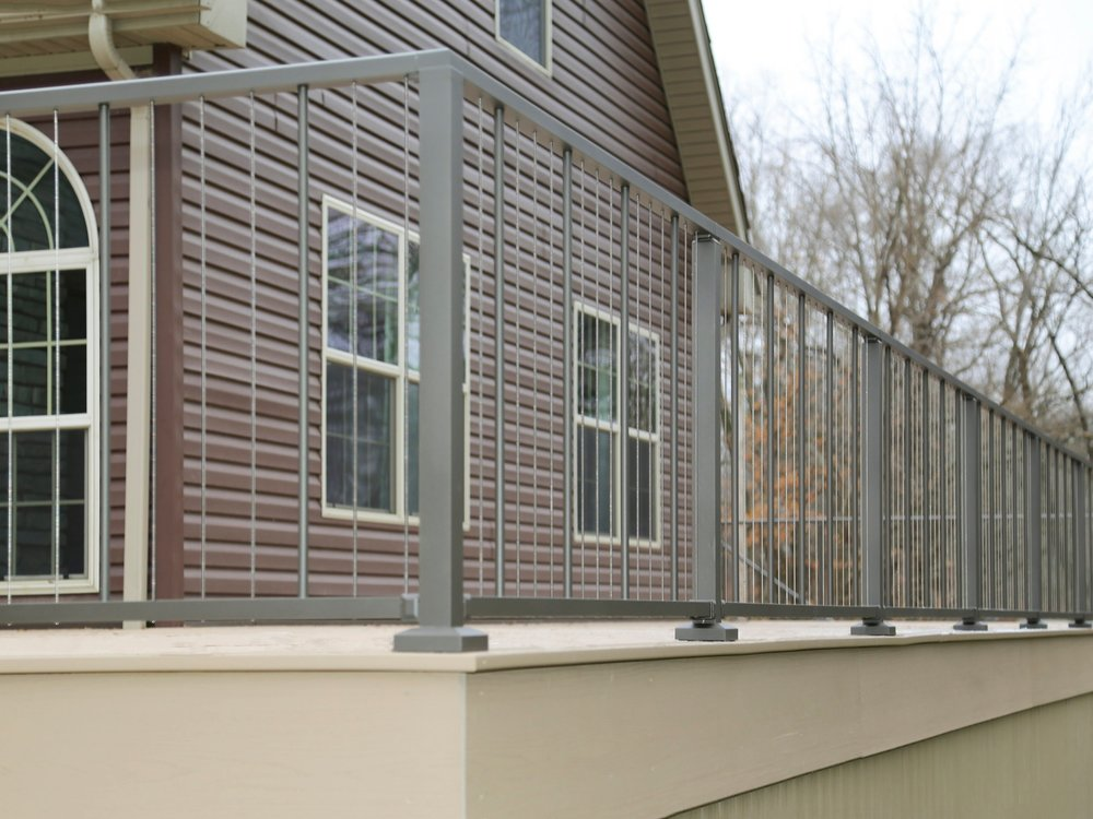 VertiCable - Aluminum Railing with Vertical Cables and Balusters