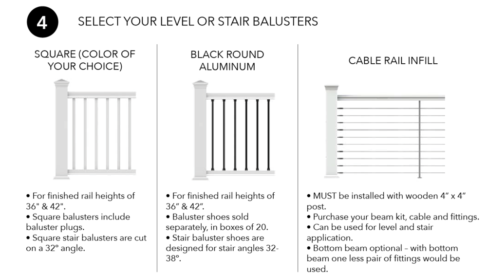 Transform Rail Level or Stair Balusters