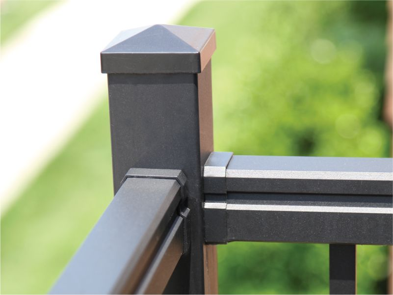 10,000 hours - Our powder-coated aluminum finish is tested to over 10,000 hours of salt spray. Rest easy knowing that your Nantucket Railing is made with high quality materials designed to withstand the harshest outdoor weather conditions.