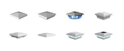 Select Your Post Top - We have a wide selection of post tops to choose from.