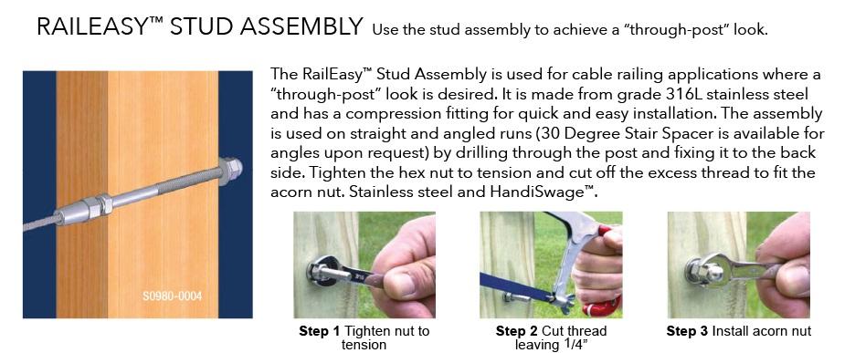 Raileasy+Hardware+Stud+Assembly