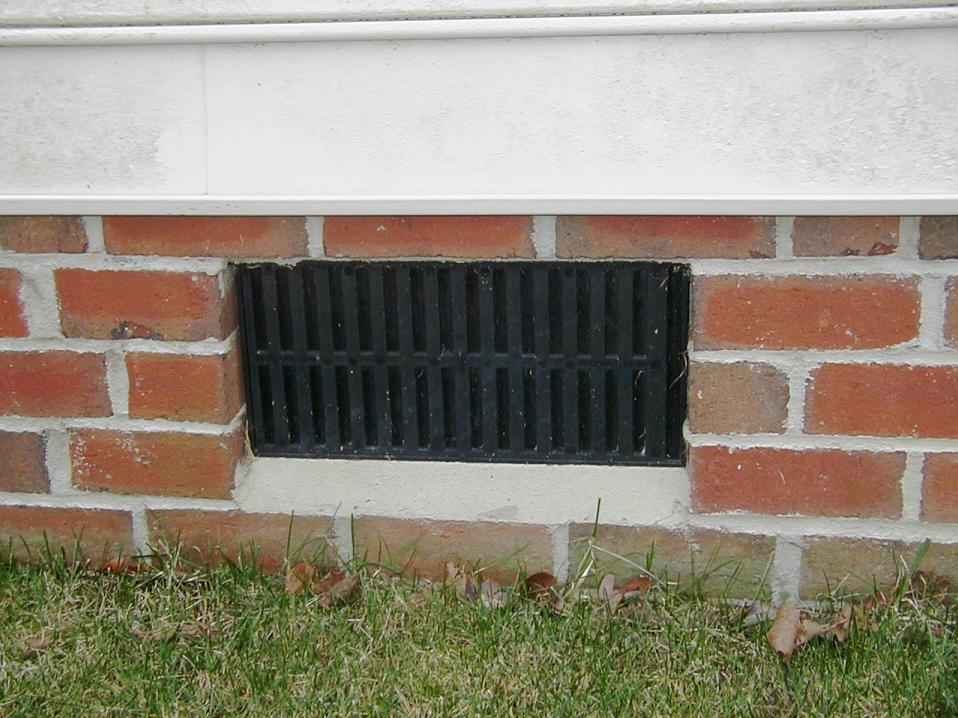 4. Close Crawl Space Vents