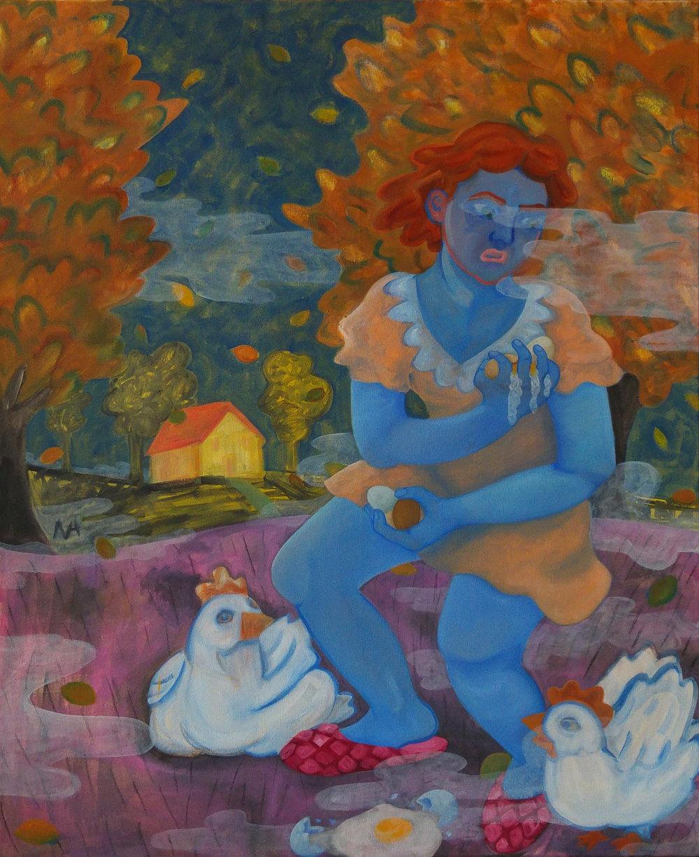 Nabila Attar - Nabila Attar hat Bildende Kunst mit dem Schwerpunkt Malerei an der Gray's School of Art in Aberdeen und der Akademie výtvarných umění in Prag studiert. Sie lebt und arbeitet in Hamburg. Die während ihres Aufenthalts auf Marthashofen entstehende Arbeit wird sich mit dem mimetischen Impuls und den Fallstricken der Repräsentation befassen. Das Stichwort Schöpfung aufgreifend, möchte sie den Schaffensprozess im Austausch mit Anwohnern und Interessierten seinen Lauf finden oder auch entgleisen lassen.