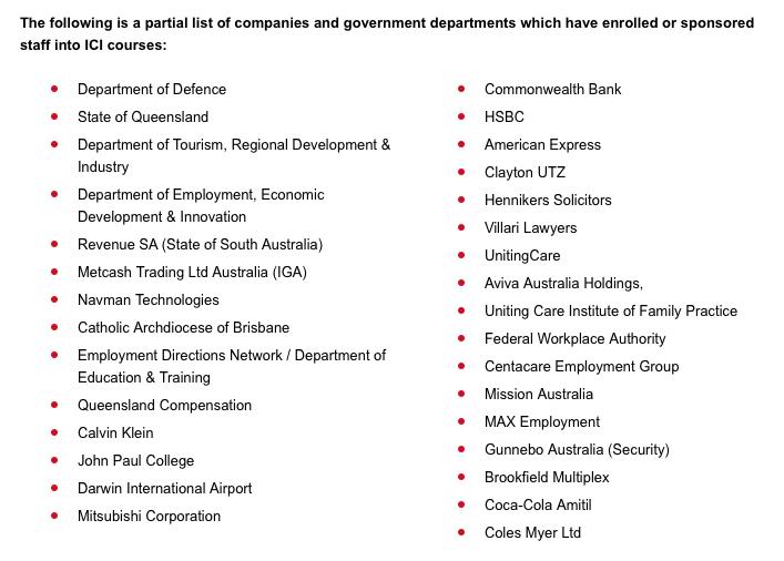 ICI import export corporate enrolment