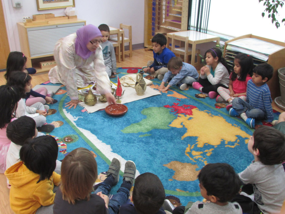 The Primary 2 students enjoyed a presentation about Morocco shared by Toddler teacher Ms. Sanae.  They learned about the culture, festivals and customs of her beautiful native country.