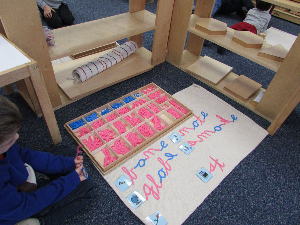 The purpose of the Moveable Alphabet is to prepare a Primary 3 student for spelling, writing and reading.
