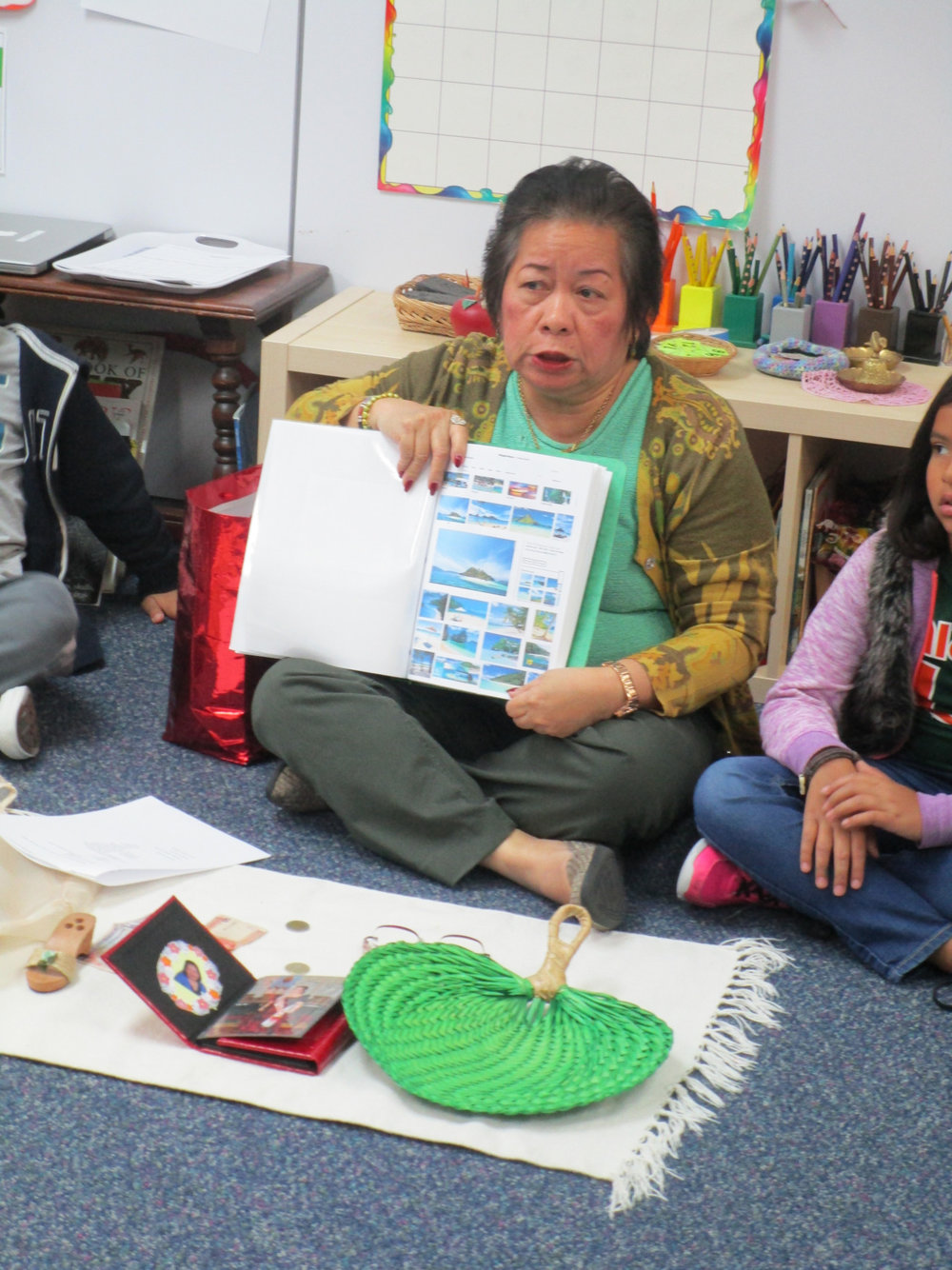Ms. Maris shared a presentation about her native country of The Philippines with Lower Elementary North students. The children enjoyed her pictures and stories, as the class is studying Asia right now.