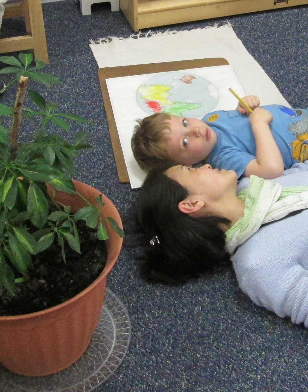 A Montessori classroom engages the whole child.  In Primary 3, a teacher takes time to connect with each child as an individual, and those small connections help to foster the child's growth and development by nurturing a lifelong love of learning.