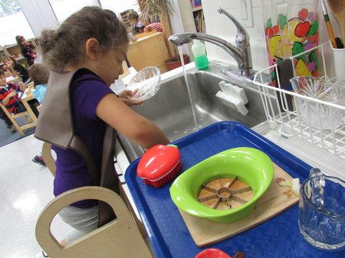 Primary 3 Practical Life activities consist of practical